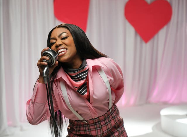 Lady Leshurr in Sky Mobile's 'Time To 65075' campaign (Dave Benett/Getty for Sky/PA)