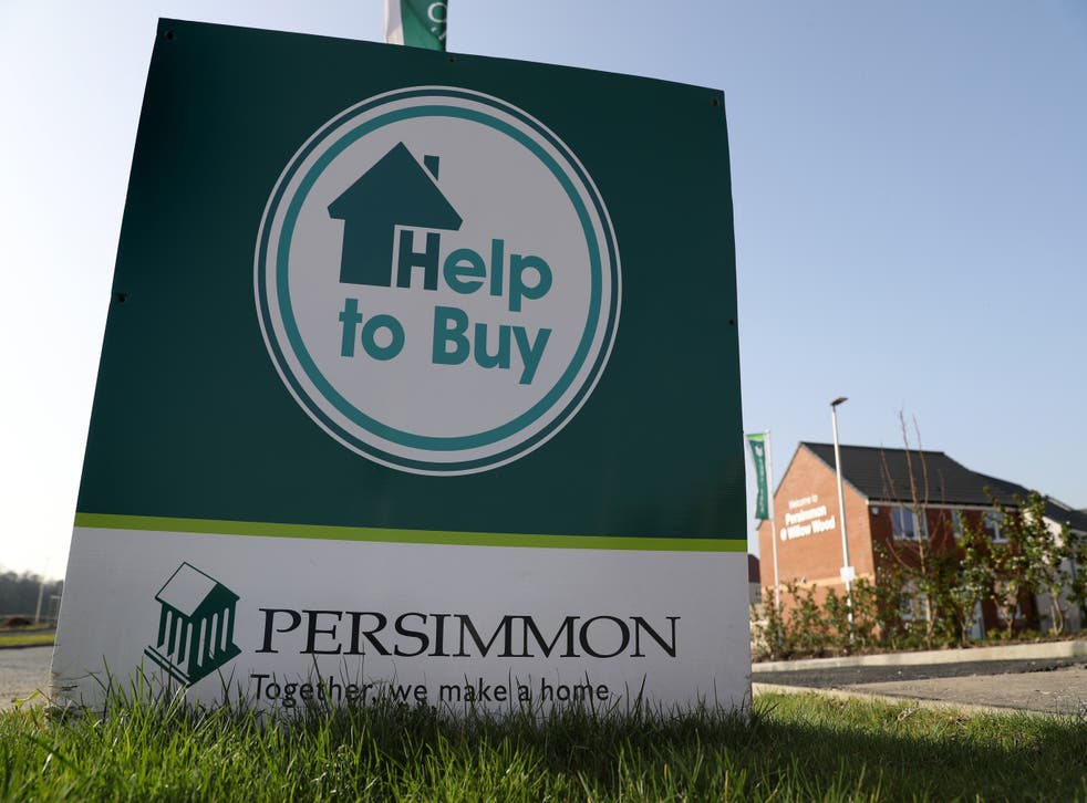 Persimmon Homes revealed a jump in profits for the past half-year (Andrew Milligan/PA)