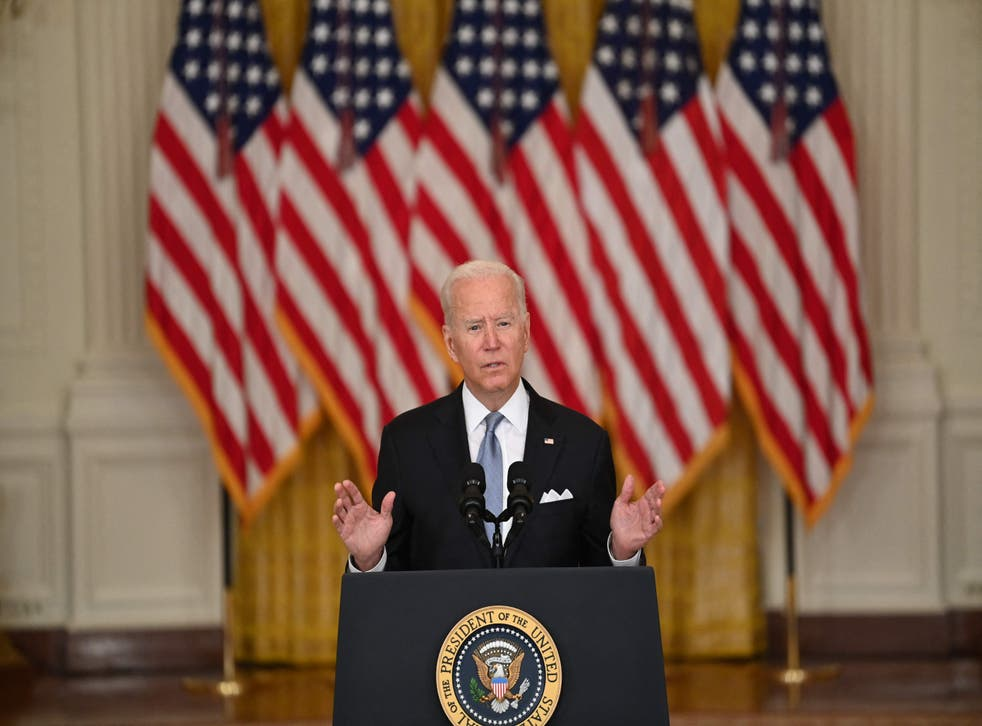 <p>The president makes a White House address on the US pullout  </p>