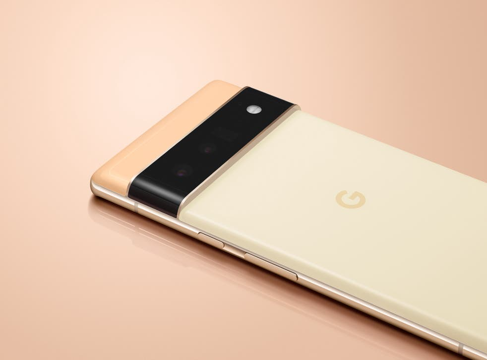 <p>The Pixel 6, due to be the first Google phone without a plug </p>