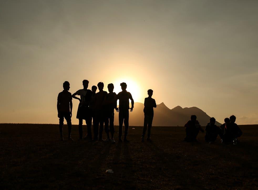 APTOPIX Turkey Afghanistan