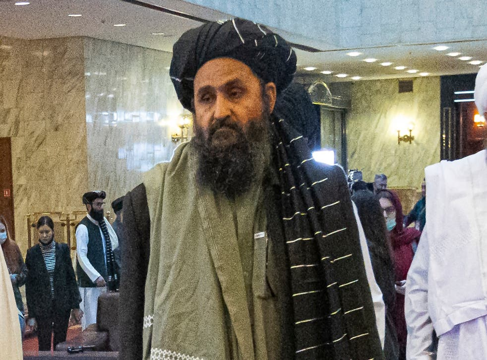 <p>Mullah Abdul Ghani Baradar, the co-founder of the Taliban, arrived in Kabul today ahead of talks on establishing a new government in Afghanistan</p>