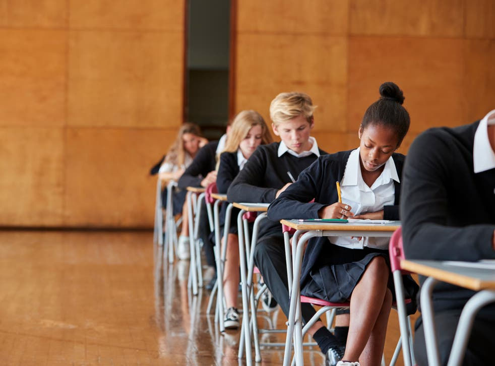 <p>Isabel Nisbet questioned whether it was still 'valid' to test a student's ability by making them sit alone at a desk 'writing with a pen for three hours' </p>
