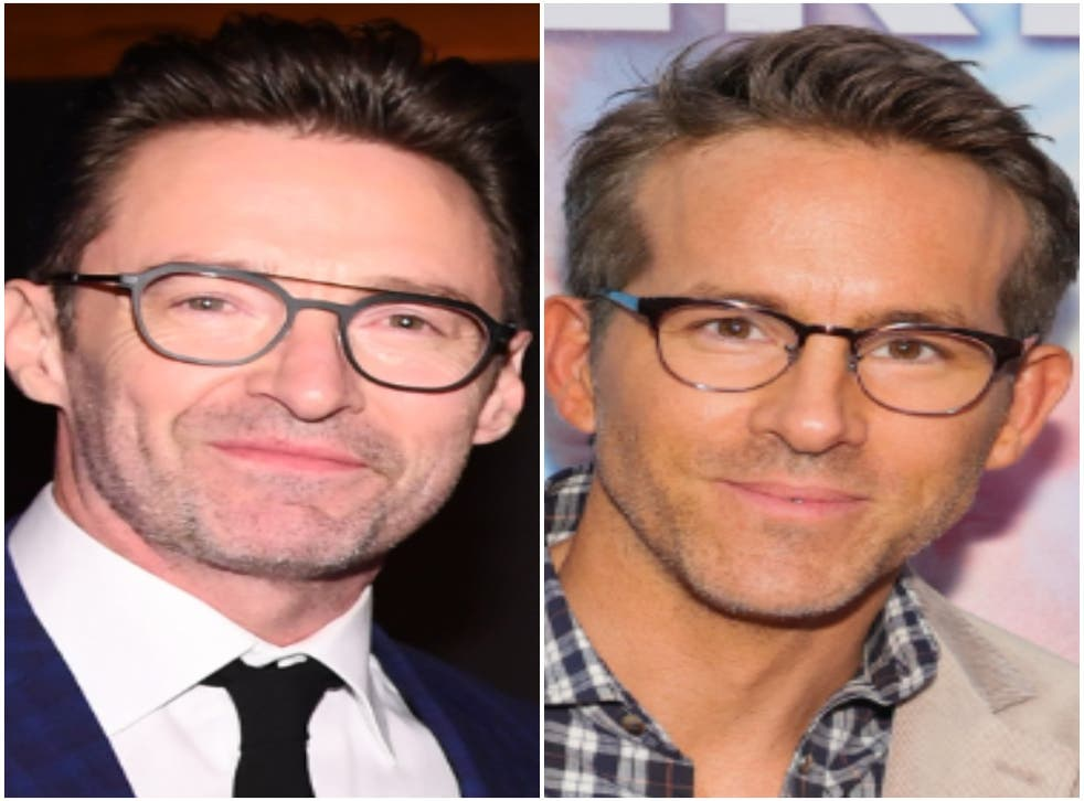 <p>Hugh Jackman and Ryan Reynolds</p>