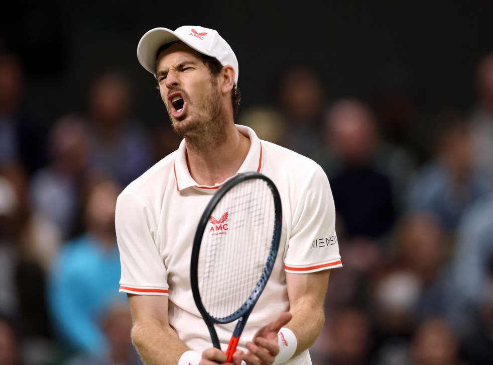 Andy Murray was beaten in straight sets (Steven Paston/PA)