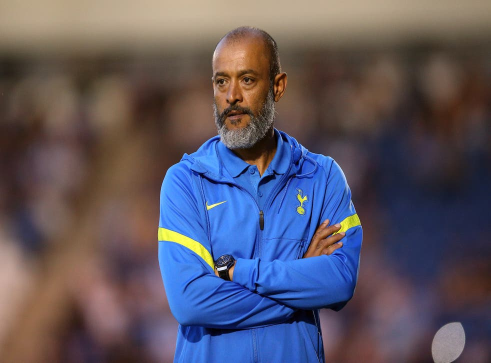 Tottenham boss Nuno Espirito Santo is not bothered by the Harry Kane speculation (Nigel French/PA)