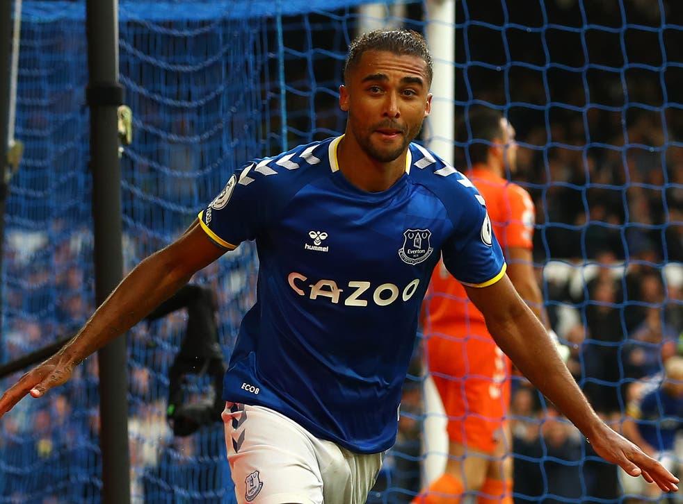 <p>Everton striker Dominic Calvert-Lewin</p>