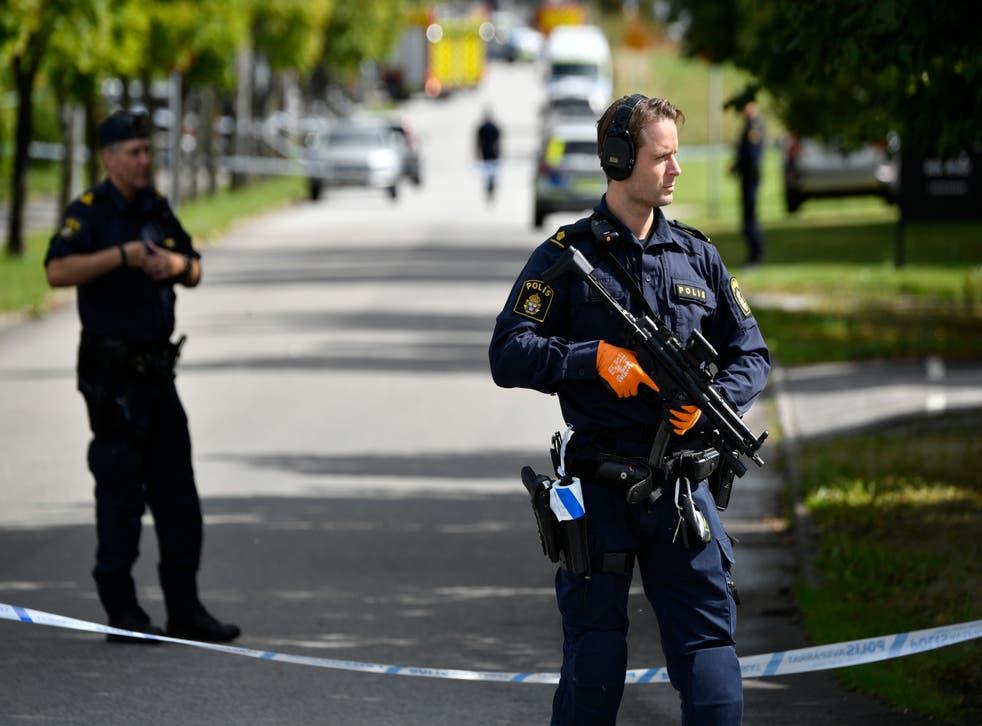 Sweden School Attack