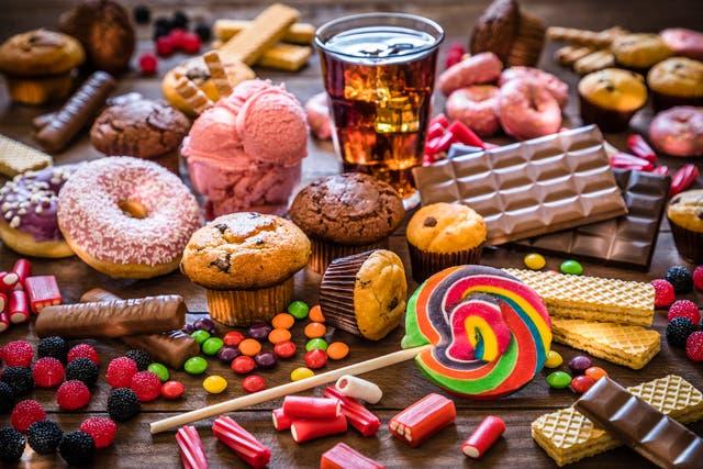 <p>Sugar makes the brain release the pleasure chemical dopamine </p>