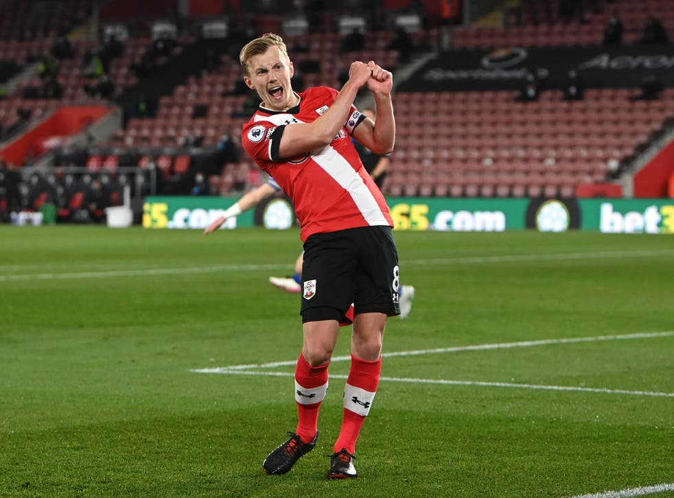 James Ward-Prowse has been with the Saints since he was eight (Neil Hall/PA)