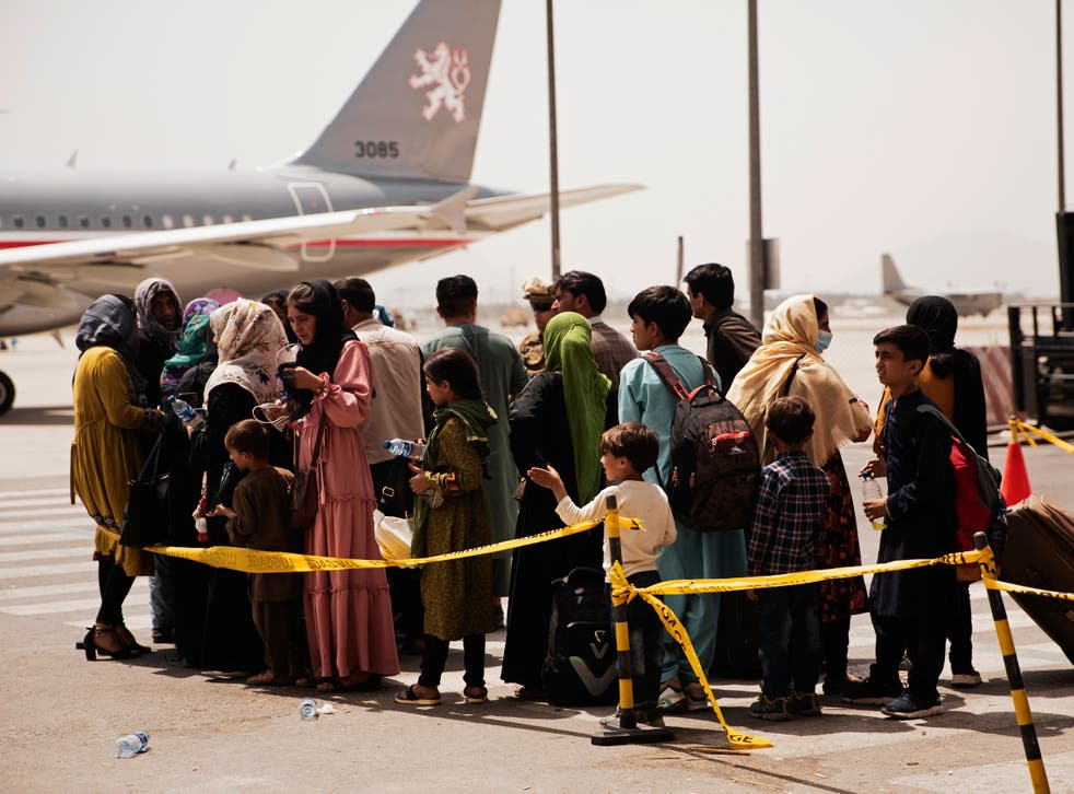 EEUU-AFGANISTAN-EVACUACIONES