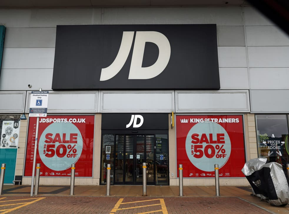 JD Sports was one of the companies to receive only one star out of five in the survey (Steve Paston/PA)