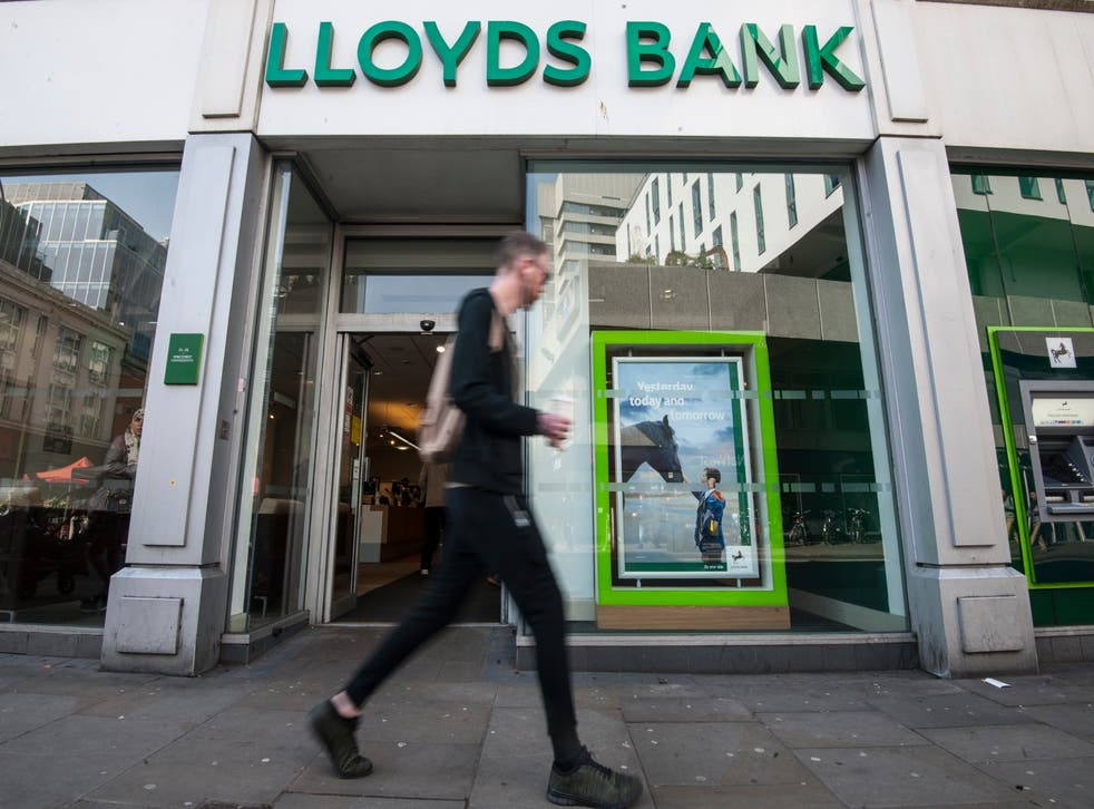 Lloyds runs more than half of the 'last in town' bank branches (Lauren Hurley/PA)
