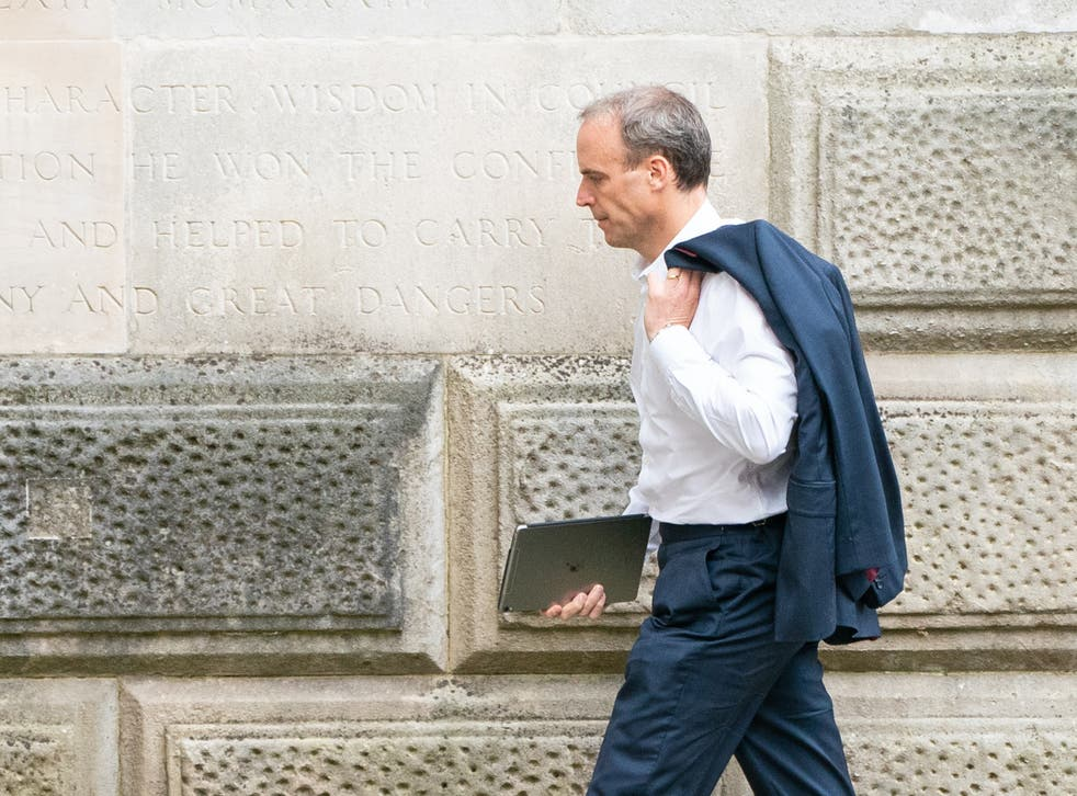 <p>Going nowhere fast: the foreign secretary </p>