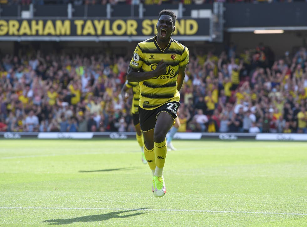 <p>Watford's Ismaila Sarr scored on the opening weekend of the Premier League last weekend </p>