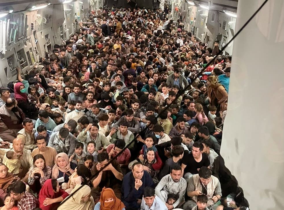 <p>File: At least 20 people have died during the chaotic evacuation process at Kabul airport</p>