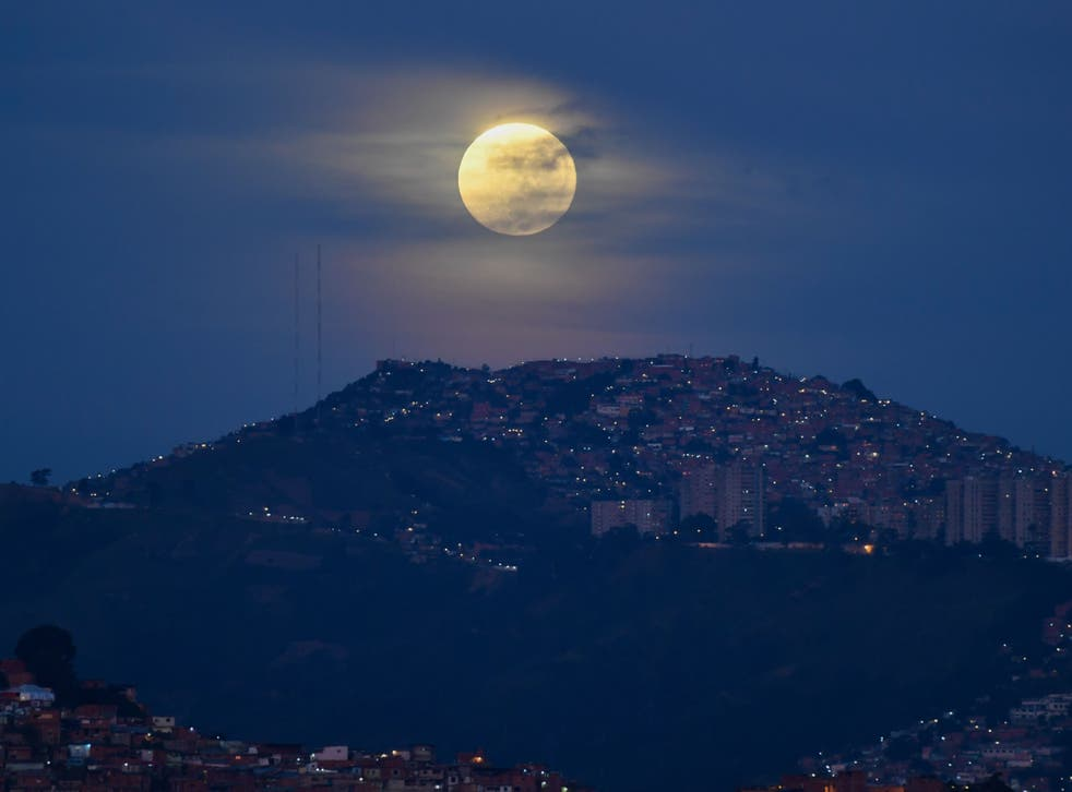 """<p>This image shows the more-common """"Blue Moon"""", which refers to the second of two full moons in one calendar month </p>"""