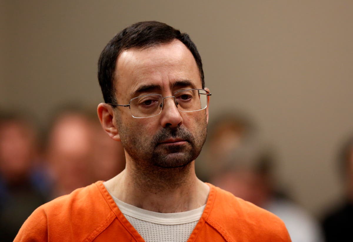 Larry Nassar ordered to give prison money to his victims - The Independent
