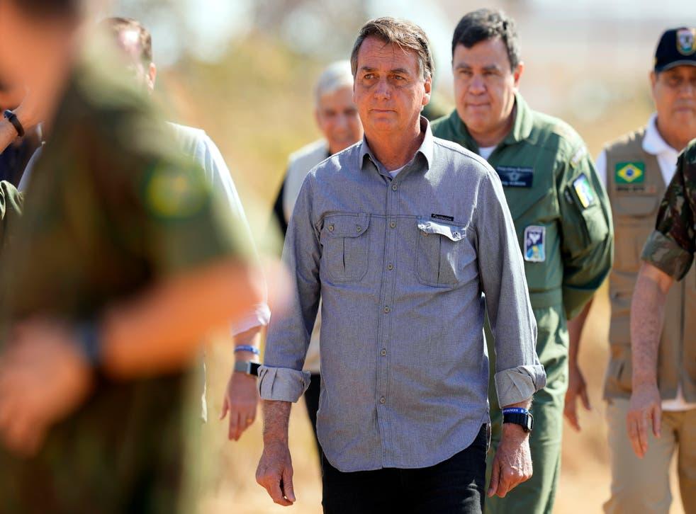 Brazil Bolsonaro Military