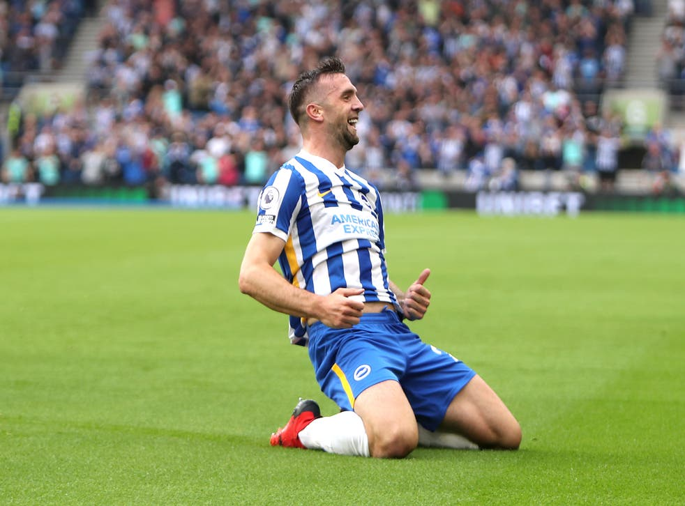<p>A recharged Shane Duffy against Watford at home yesterday</p>