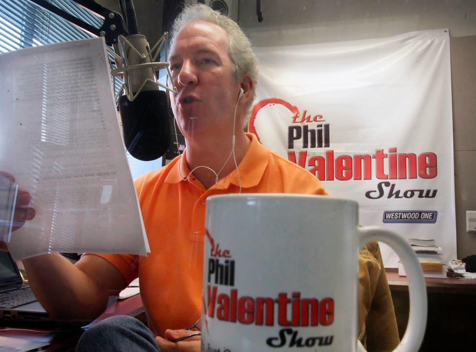 <p>Conservative talk show host Phil Valentine</p>