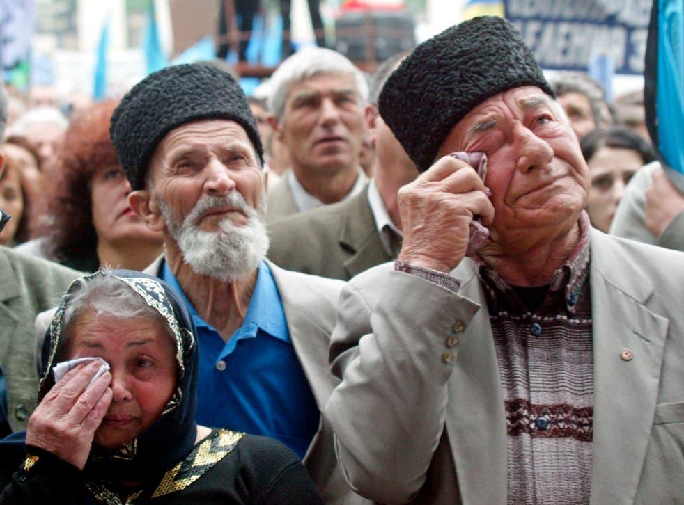 Ukraine Crimean Tatars