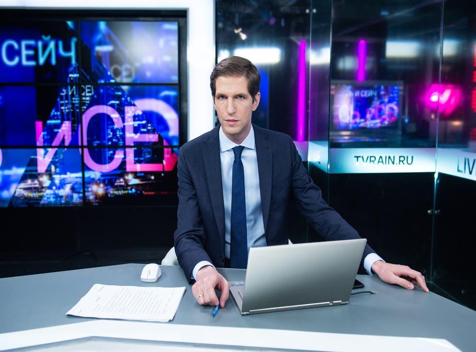 <p>Tikhon Dzyadko has headed TV Rain since 2019 </p>