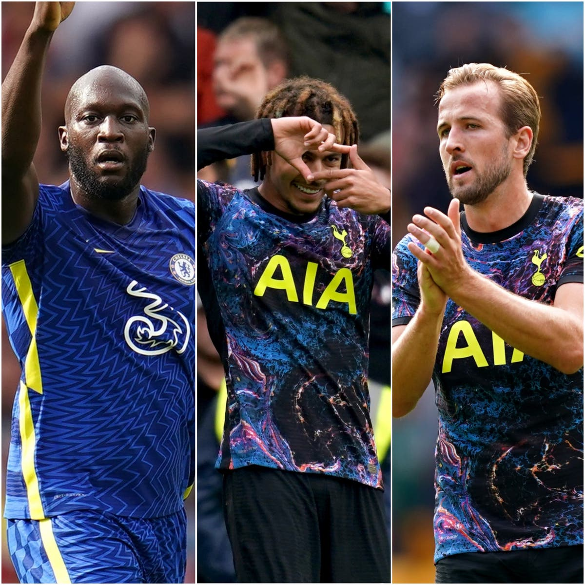 Lukaku scores, and Kane plays in Spurs' victory - Sunday's sporting social