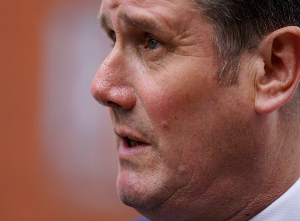 <p>Keir Starmer: 'People in this country are crying out for change' </p>