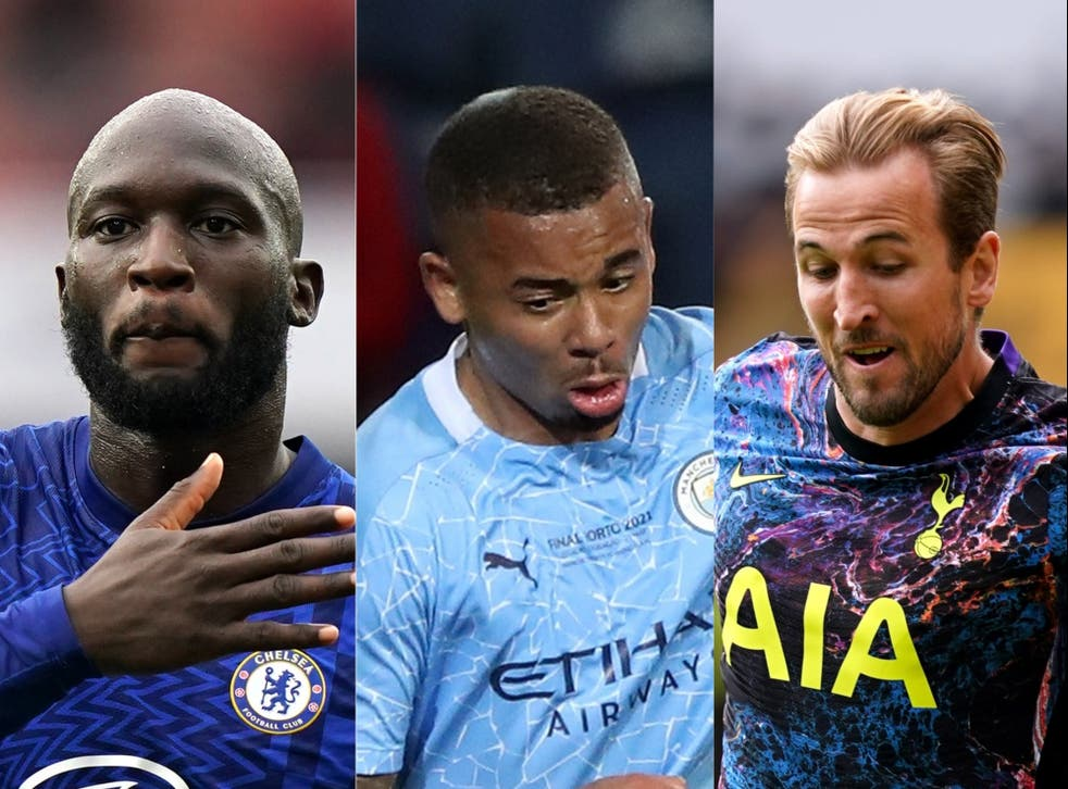 <p>Romelu Lukaku, Gabriel Jesus and Harry Kane were all involved in this weekend's Premier League talking points (PA)</p>