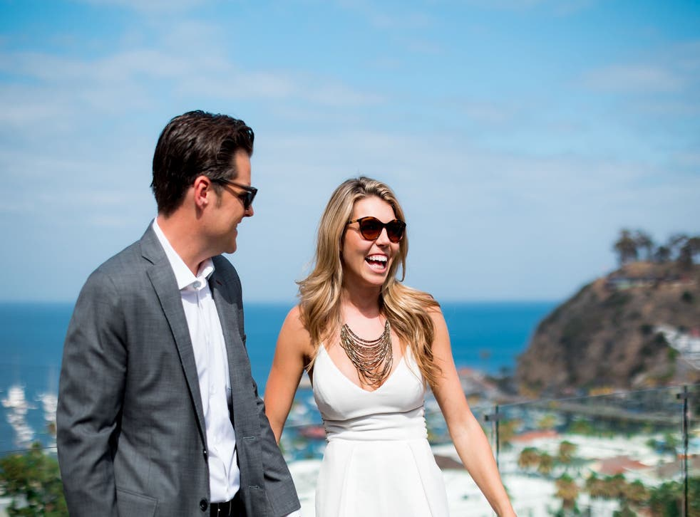 <p>Republican representative Matt Gaetz married 26-year-old Ginger Luckey in a private ceremony over the weekend</p>