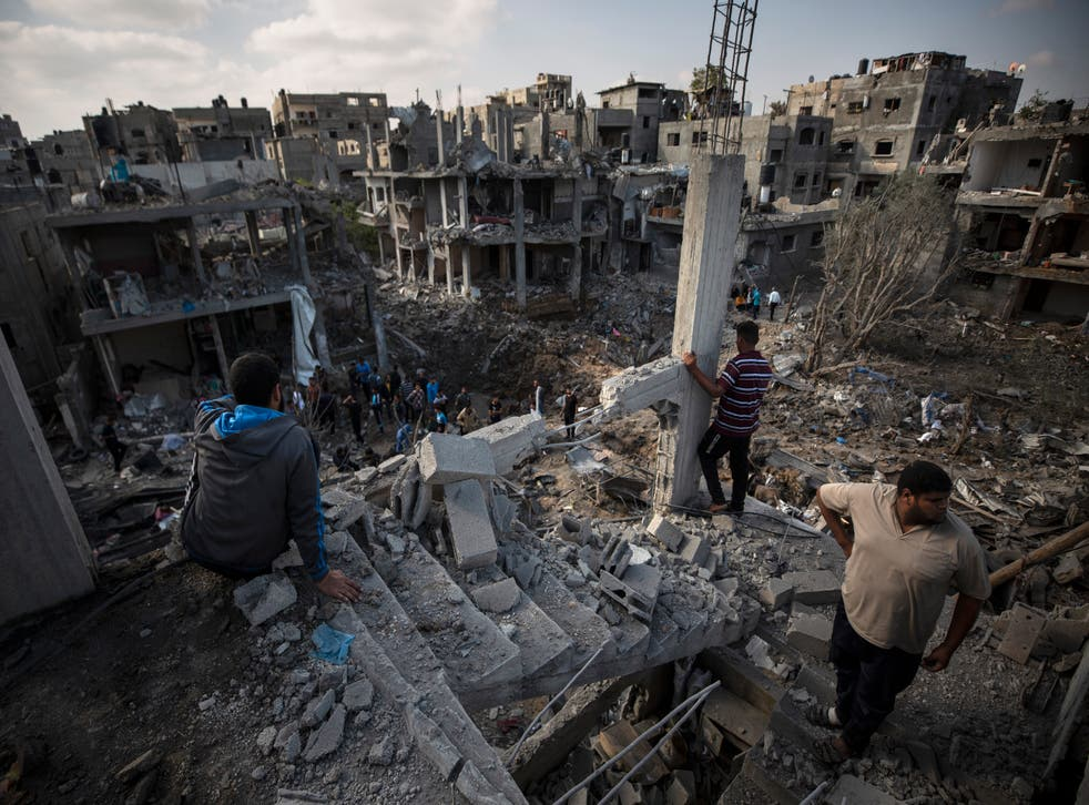 ISRAEL-GAZA-CRIMENES DE GUERRA