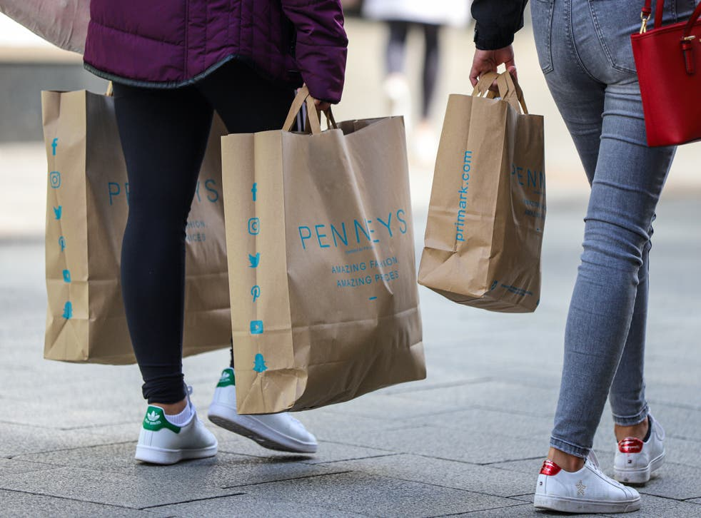 Shoppers are returning to high streets (Damien Storan/PA)