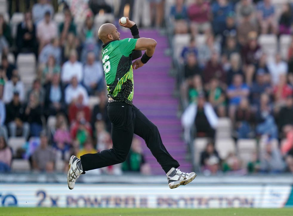 <p>Tymal Mills is renowned for his ability to bowl in excess of 90mph</p>