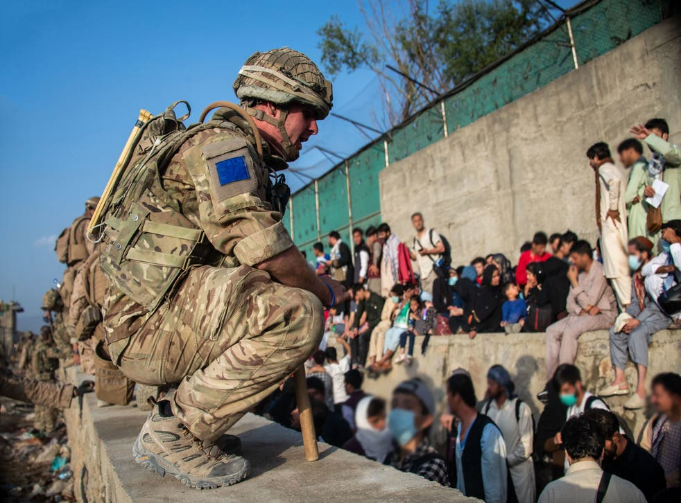 <p>UK Armed Forces continue to take part in the evacuation of allied Afghans and other personnel from Kabul airport</p>