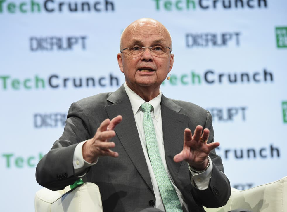 <p>General Michael Hayden speaks onstage during TechCrunch Disrupt NY 2016 at Brooklyn Cruise Terminal on May 11, 2016 </p>