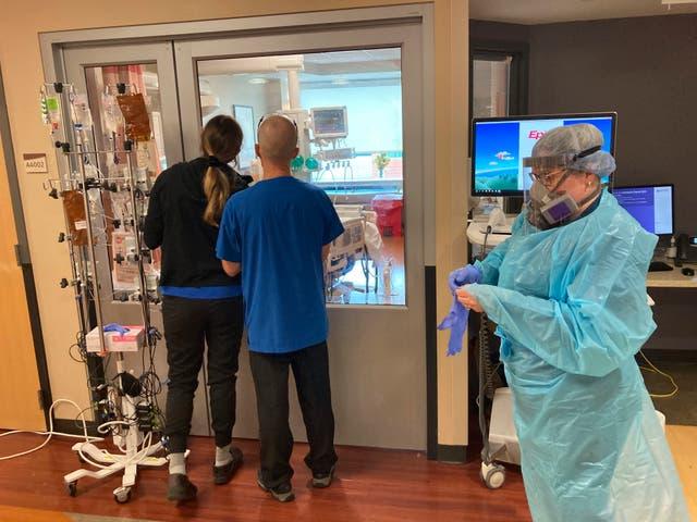 Virus Outbreak-Oregon Hospitals