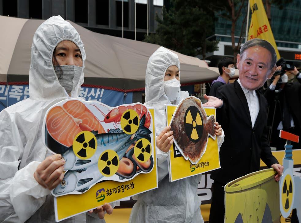 Japan Fukushima Water