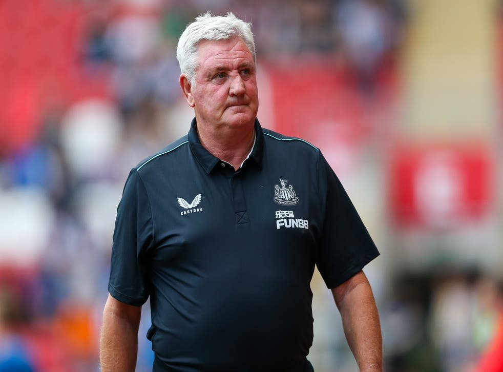 Steve Bruce is still hoping to add a loan signing to his Newcastle squad (Barrington Coombs/PA)