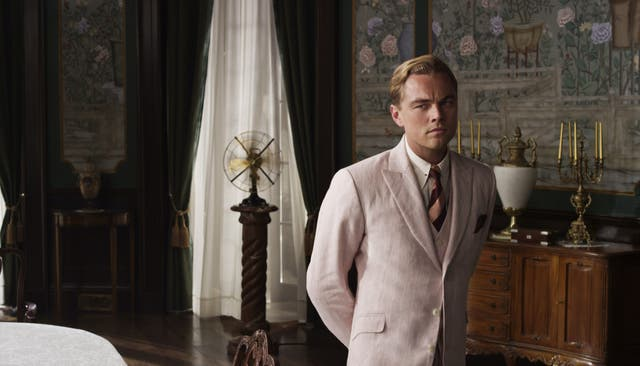 Leonardo DiCaprio starred in Baz Luhrmann's film adaptation of The Great Gatsby (Alamy/PA)
