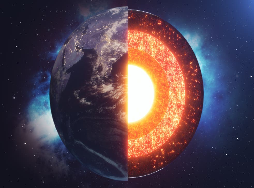<p>Despite the uneven growth of the solid inner core, gravitational forces work to distribute it evenly</p>