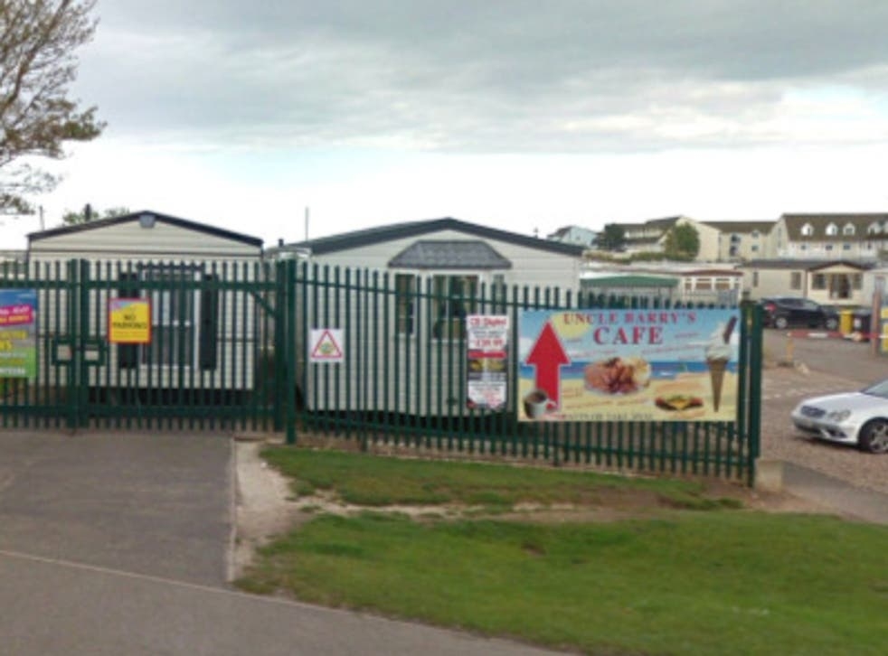 <p>Sealands caravan park near Skegness, Lincolnshire </p>