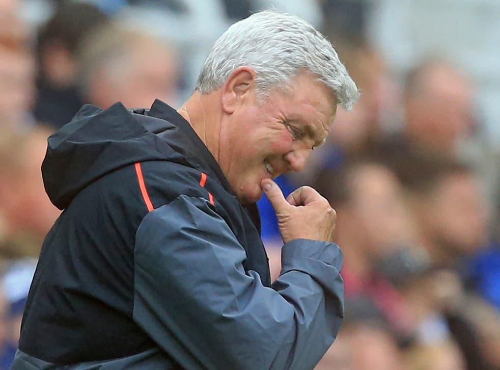 <p>Newcastle head coach Steve Bruce</p>