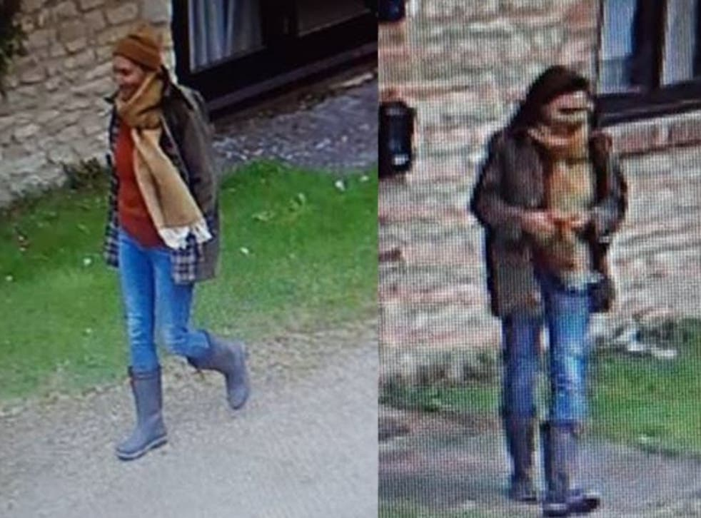 <p>Thames Valley Police have released CCTV images of the unidentified woman </p>