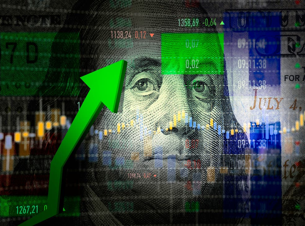 <p>The US economy is now back to its pre-pandemic size</p>
