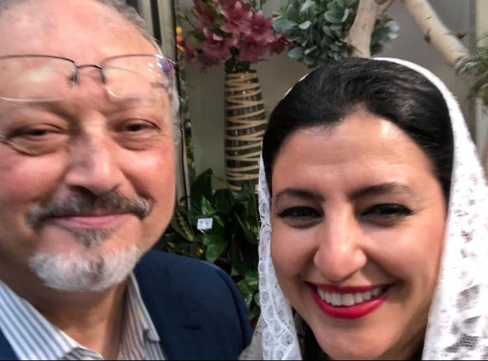 <p>Hanan El-Atr never believed her husband Jamal Khashoggi faced such peril</p>