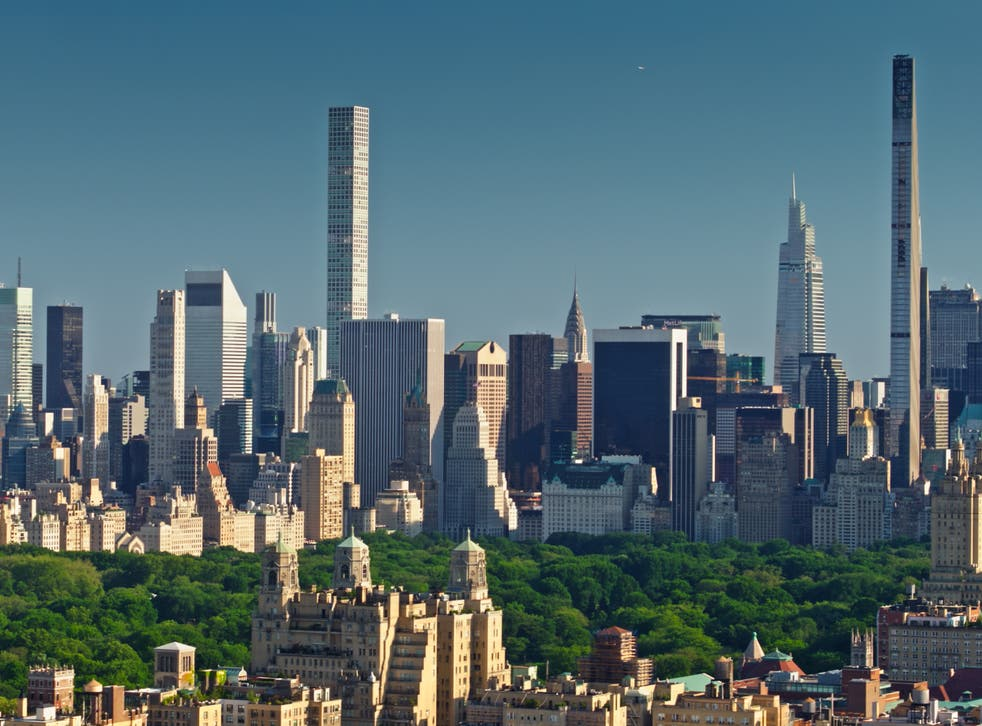 <p>Midtown Manhattan and Central Park as seen from the Upper West Side. New York has overtake San Francisco as the US's most expensive rental market</p>