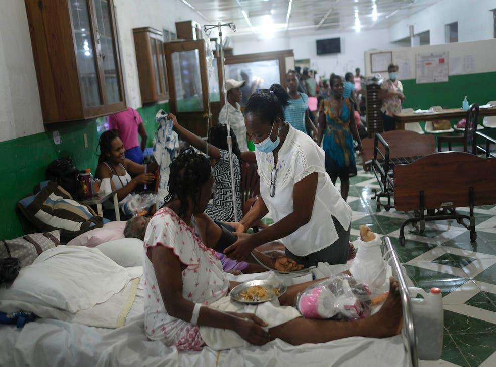 HAITI-SISMO-PERSONAS SIN HOGAR