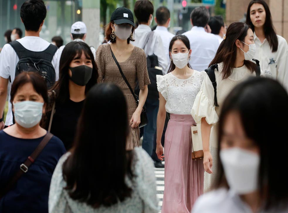<p>File: Daily Covid-19 infections have surged by at least 10 times since last month to 25,000 cases across Japan, with 5,000 cases reported from Tokyo </p>