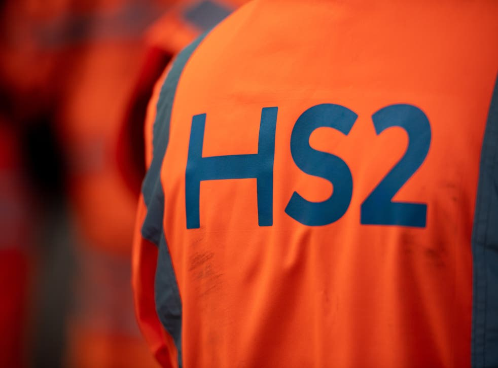 Costain has contracts to work on HS2 (Jacob King/PA)
